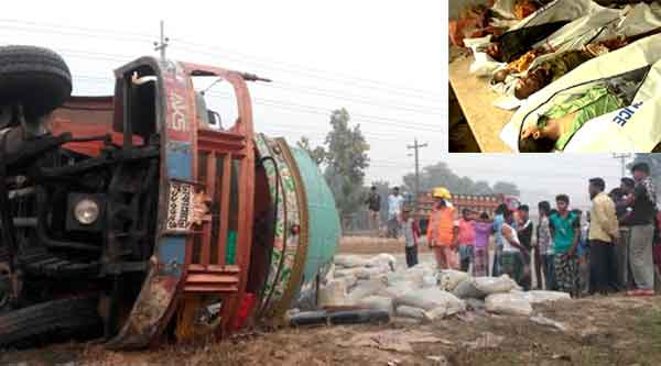 10 killed in Mymensingh road accident